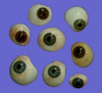 some models of artificial eyes